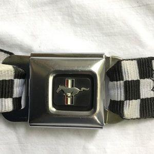 Mustang Buckle-Down Adjustable Belt